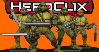 HeroClix: TMNT sú komplet!