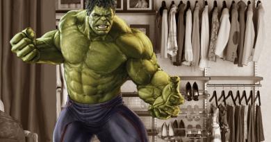 Aká bude konfekčná veľkosť Hulk-ovho brnenia?