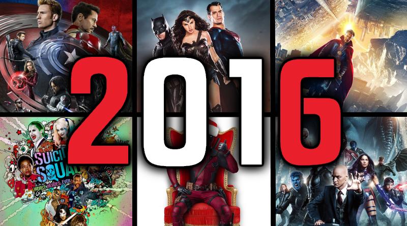 TOP komiksový film roka 2016