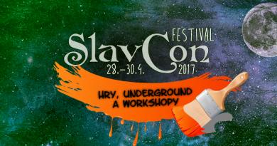 Slavcon prináša hry, underground a workshopy