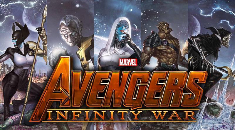 Thanosov Black Order sa predstavuje!