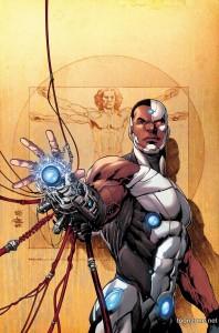 Cyborg-comic-poster
