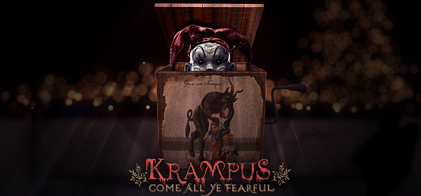 Krampus Choď do čerta