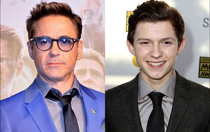 tom holland robert downey jr
