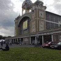 Nádherný palác výstaviska