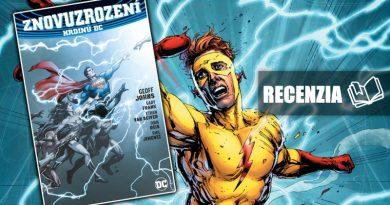 Znovuzrození hrdinů DC aj v našich končinách