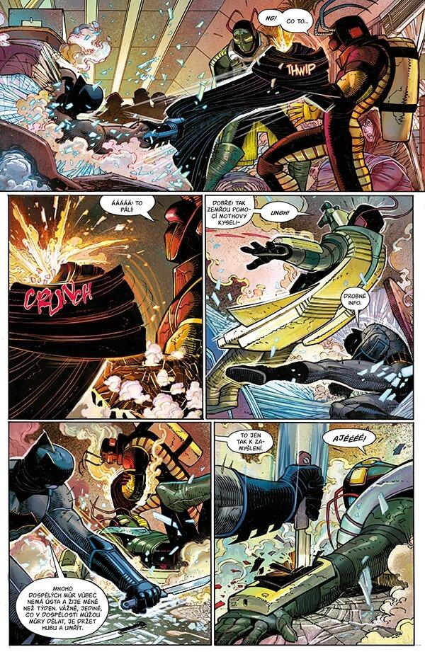 Batman komické knihy