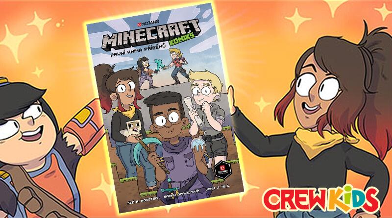 Crew kids – august/srpen : Minecraft