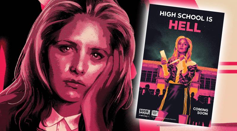 Komiksový reštart Buffy, postrachu všetkých upírov