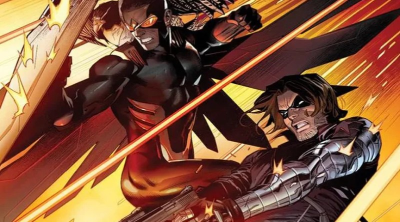 Marvel News #134: Winter Soldier a Falcon versus Hydra!