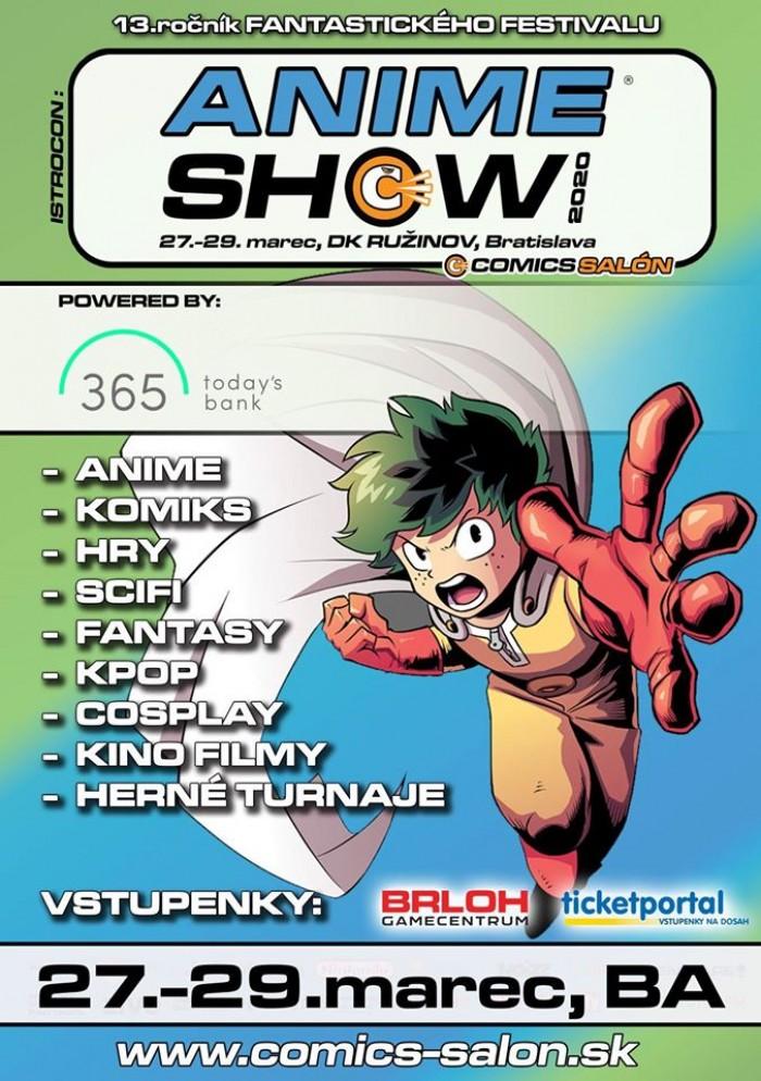 AnimeShow festival plagat poster